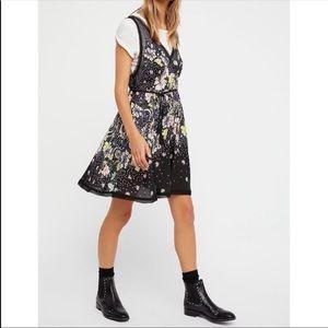 NWT Free People Longwood Printed Slip Dress Small